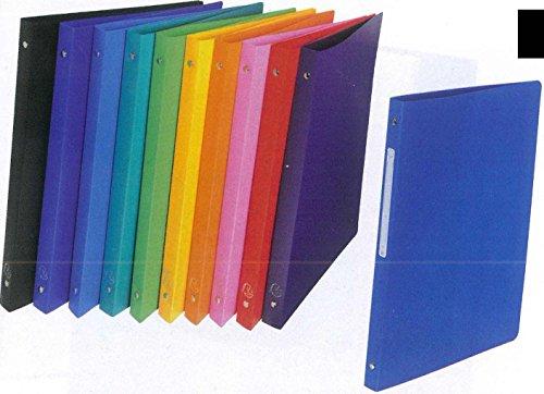 10 Ringordner A4 2 Ringe 16mm stark farbig sortiert (Hefter)