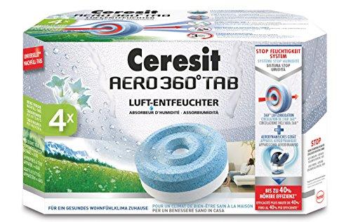 Ceresit Aero 360° Luftentfeuchter Reine Frische Nachfüll Tabs 4-er Pack