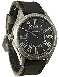Men'Welder Armbanduhr PH4900-C-PH01T Analog Leder schwarz 21-505 K