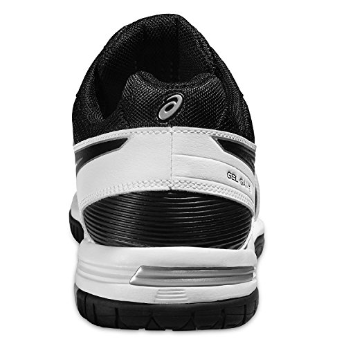 Asics Herren Gel-Game 5 Tennisschuhe weiß / schwarz