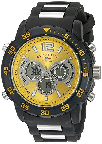 U.S. Polo Assn. Sport Men's US9546 Two-Tone Sport Watch