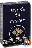 Jeu de 54 cartes : Gauloise Bleue