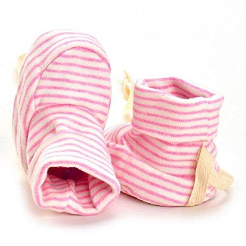 BZLine® Baby Indoor-Schuh Mädchen Jungen Sneaker Anti-Rutsch weiche Sohle Schuhe Pink