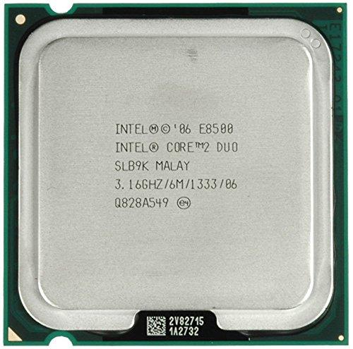Intel Core 2 Duo E8500 Processor 6M Cache 3.16 GHz 1333 MHz FSB LGA 775 Socket
