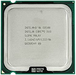 Intel Core 2 Duo E8500 Processor 6M Cache 3.16 GHz 1333 MHz FSB LGA 775 Socket