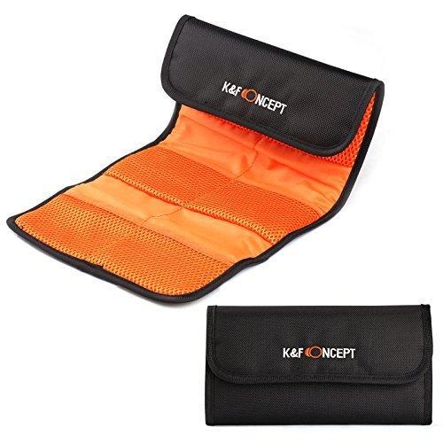 K&F Concept 6 Lente Filtro Accessorio 6 custodia per filtri per Canon Nikon Sony Camera Filtri