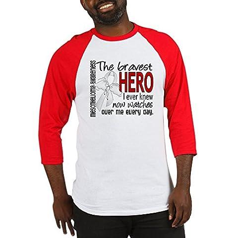 CafePress - Bravest Hero I Knew Mesothelioma - Cotton Baseball