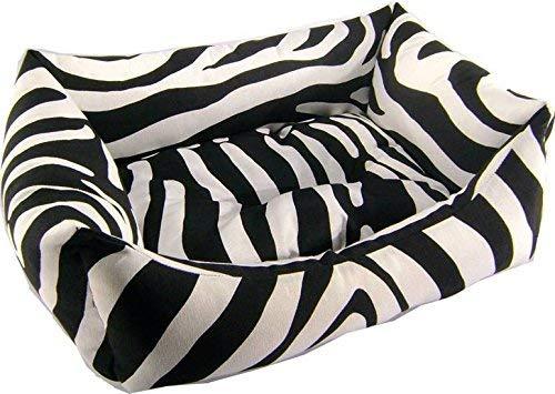 IOn Cama Cuna para Perro Y Gato 50x40 Zebra