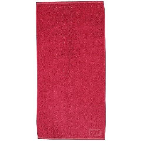 Kela Ladessa Hand Towel, Cotton, Coral, 50 x 100 cm