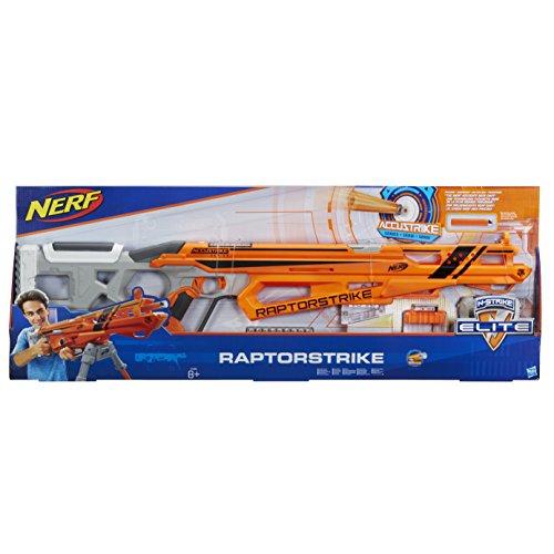 Nerf Weihnachtskalender.Hasbro Nerf C1895eu4 Nerf N Strike Elite Accustrike Raptorstrike Spielzeugblaster