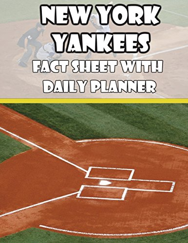 New York Yankees Fact Sheets with Daily Planner por Mega Media Depot
