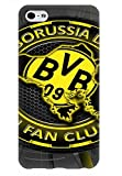 iPhone 6 Plus iPhone 6S Plus Hülle Case Borussia Dortmund BVB,iPhone 6 Plus Hülle 3D Football Club, iPhone 6 Plus Tpu Schwarz Cover