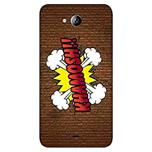 """Bhishoom Designer Printed Hard Back Case Cover for """"Micromax Canvas Play Q355"""" - Premium Quality Ultra Slim & Tough Protective Mobile Phone Case & Cover"""