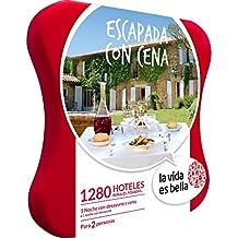LA VIDA ES BELLA - Caja Regalo - ESCAPADA CON CENA - 1280 hoteles rurales, posadas…