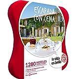 LA VIDA ES BELLA - Caja Regalo - ESCAPADA CON CENA - 1280 hoteles rurales y posadas en España, Bélgica, Francia, Italia y Portugal