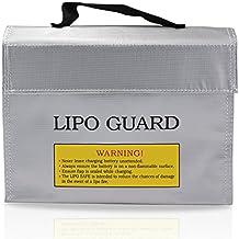 PsmGoods® Bolsa Bolsa de Li-Po batería Guardia incombustible Protección de Seguridad del cargador de Saco (24*18*6.4cm)