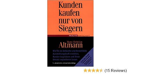 213dfad244 Kunden kaufen nur von Siegern - Hans Christian Altmann - Amazon.de: Bücher