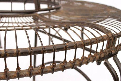 DanDiBo Rundbank aus Metall Bank JC112404 Baumbank Sitzbank Gartenbank D-150 cm H-75 cm - 7