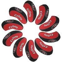 Callaway funda de palo de golf hierro 10pcs/set MT/C01 Rojo