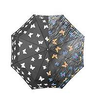 iMucci Sun&Rain Travel Umbrella Water Discoloration Umbrella UV Protection Umbrellas Oversized Sun Protection Folding Umbrella 56x96cm
