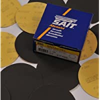 125mm Diameter silicon carbide P80 hook and loop sanding discs. Per 50 discs.