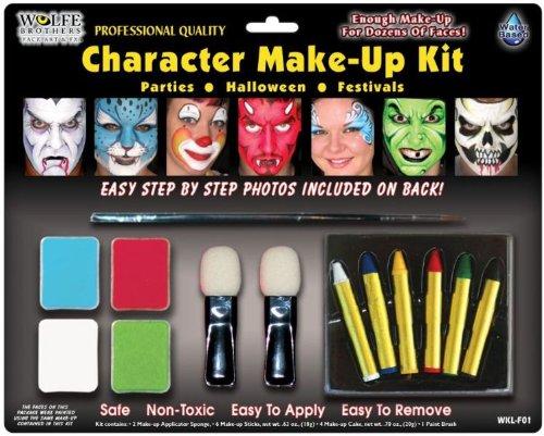 Wolfe Charakter Makeup Kit ()