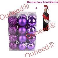 Amazon.fr : boules de noel violette : Cuisine & Maison