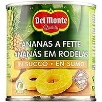 del Monte Ananas a Fette in Succo - 435 gr