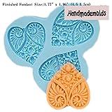 YL Love Herz Y048Silikon Zucker Kunstharz Craft DIY Formen DIY Gum Paste Blumen Kuchen dekorieren Fondant Form