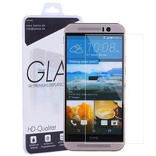Ultra klares Schutzglas aus hartem Glas Panzerglas Bildschirmschutzglas Hartglas Folie von Liamoo (HTC one M9)