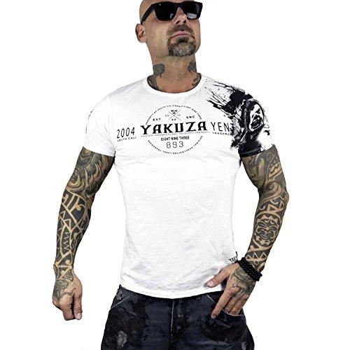Yakuza Original Herren YENT T-Shirt Weiß