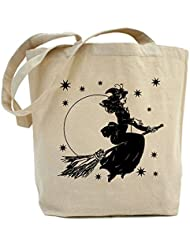 CafePress Unique Design Old Fashioned Witch Tote Bag - Standard by CafePress