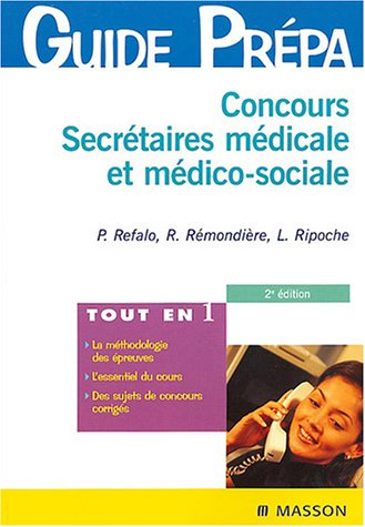 Concours Secrétaires médicale et médico-sociale