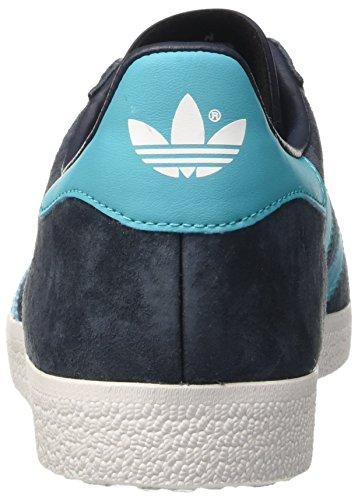 adidas Gazelle, Baskets Basses Homme Bleu (Legend Ink/energy Blue/ftwr White)