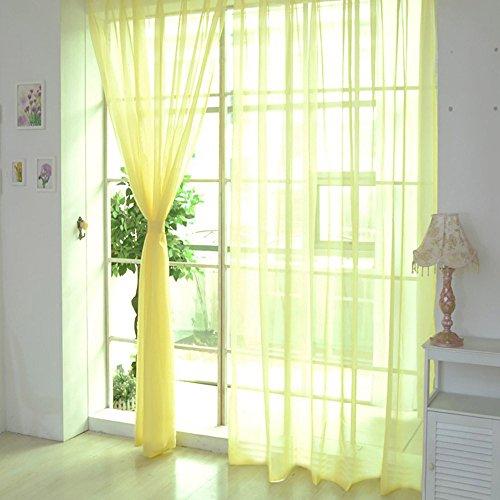 1pz tulle porta finestra tenda, bescita romantico tenda, pure color opzionale drappo pannello sheer sciarpa mantovane camera da letto soggiorno decorazione, e, e