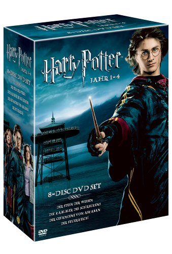 Harry Potter Box 1-4  (8 DVDs)