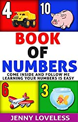 Kids Books: Book of Numbers (An Educational Learning Book About Numbers) Children's Concept Picture Books for Babies,Toddlers at Potty Training Age, Kindergarten and Preschool (English Edition)