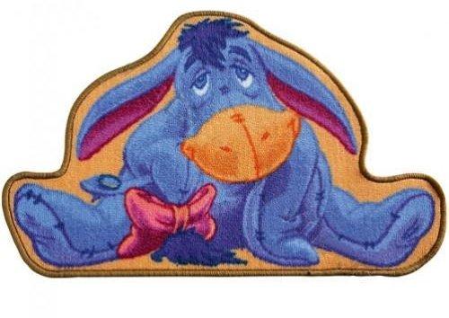 Disney Spielteppich Winnie the Pooh I-Aah Esel Teppich für Kinder 50/80 cm -