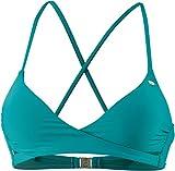 O'Neill Damen Cross Over Bra Top Bademode Bikini, Tropical Green, 40