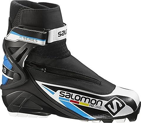 Salomon Bottines de ski Pro Combi Pilot 14/15, L37749700-000, noir