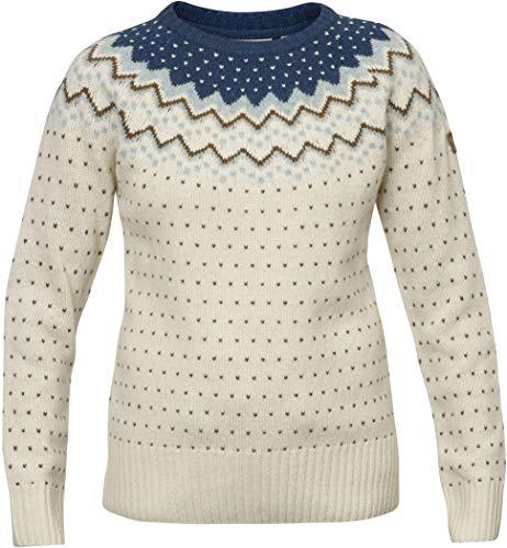 Fjällräven Damen Övik Knit Pullover, Glacier Green, XS (Top Jacquard Knit)
