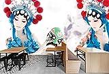 Mbwlkj Tapete 3D Wandbild Modernes Wohnzimmer Ideen Im Chinesischen Stil Foto Haus Tapeten Beauty Wand Verzieren Wandbild-250Cmx175Cm