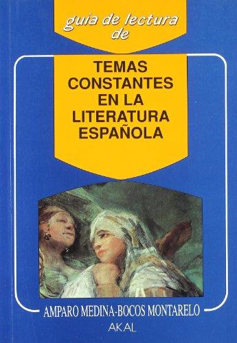 Temas constantes en la literatura española (Guías de lectura)