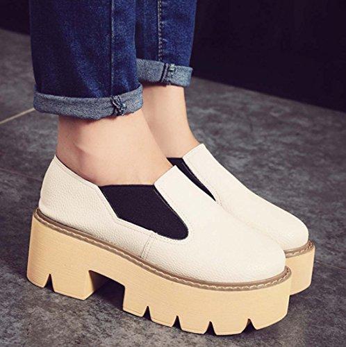 Chaussures beiges Fashion femme pZv4ZL