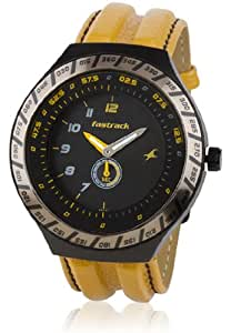 Fastrack Speed Racer Analog Black Dial Men's Watch - NE3081AL01