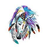 RedshoeYY Parches de caballo para vaqueros, proceso de impresión de ropa, pegatinas para pareja, camiseta, pegatinas para la ropa, camiseta publicitaria, impresión de transferencia de calor, pegatinas de ropa bricolaje Pirógrafo