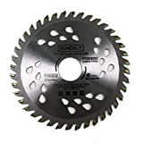 """SUNDELY® Carbide Tipped TCT Circular Saw Blade 115mm X 22.2mm X 40T (4.5"""" X 0.87"""") for Wood and Plastic"""