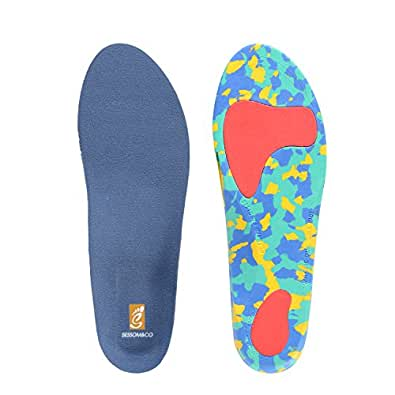 sessom co sports insoles with arch support for walking