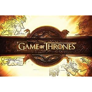 Grupo Erik Editores Game of Thrones Logo Poster, Madera, Multicolor, 91.5x61x0.02 cm 9