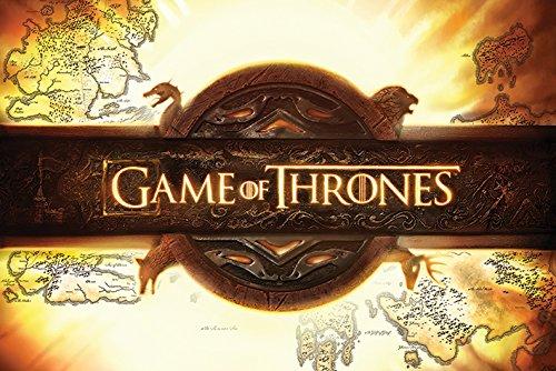 Grupo Erik Editores Game of Thrones Logo Poster, Madera, 91.5x61x0.02 cm